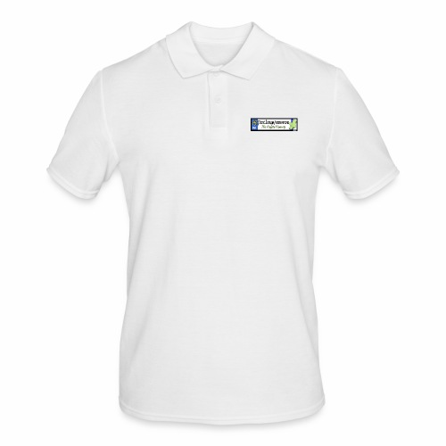 WATERFORD, IRELAND: licence plate tag style decal - Men's Polo Shirt