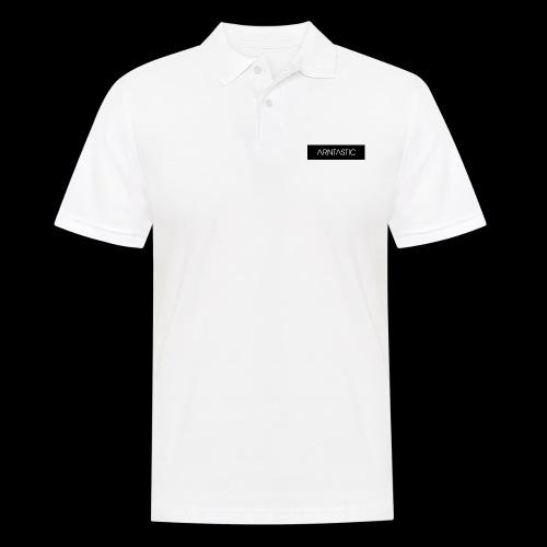 ARNTASTIC balken schwarz - Männer Poloshirt