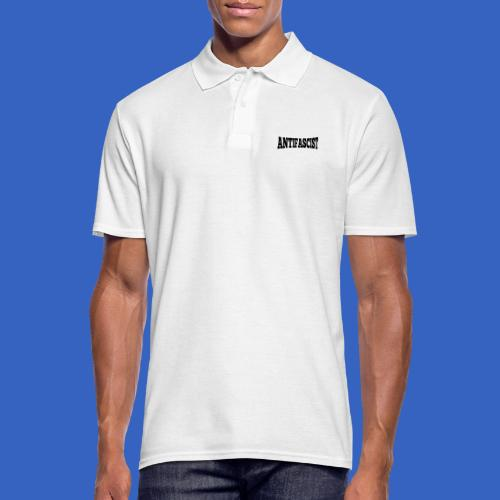Antifascist - Antifaschist - Männer Poloshirt