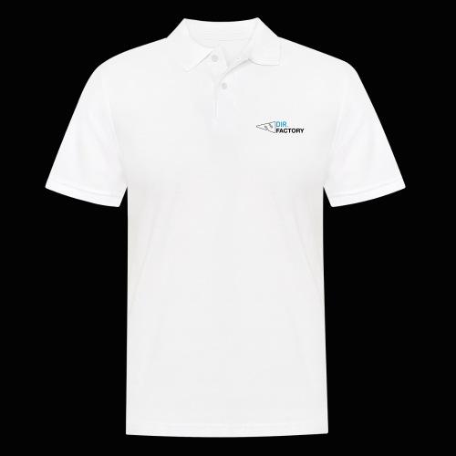 Logo mit Arrow DESIGN - Männer Poloshirt