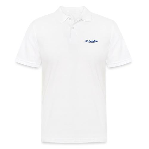 Skrift med web - Poloskjorte for menn