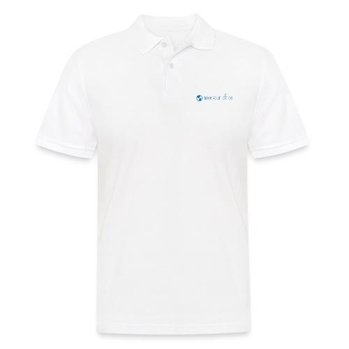 Das offizielle move your office Logo-Shirt - Männer Poloshirt