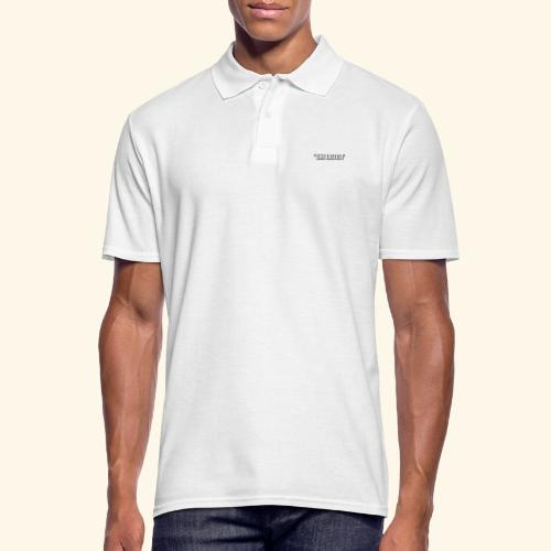 SHE TASTES LOGO WHITE WIT - Men's Polo Shirt
