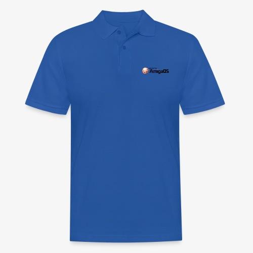 PoweredByAmigaOS Black - Men's Polo Shirt