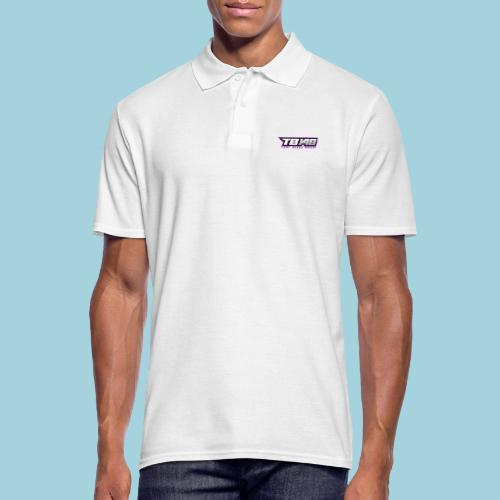 Tob Logo Lila - Männer Poloshirt