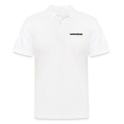Tshirt White Back logo 2013 png - Men's Polo Shirt
