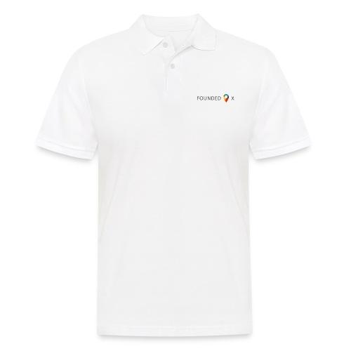 FoundedX logo png - Men's Polo Shirt