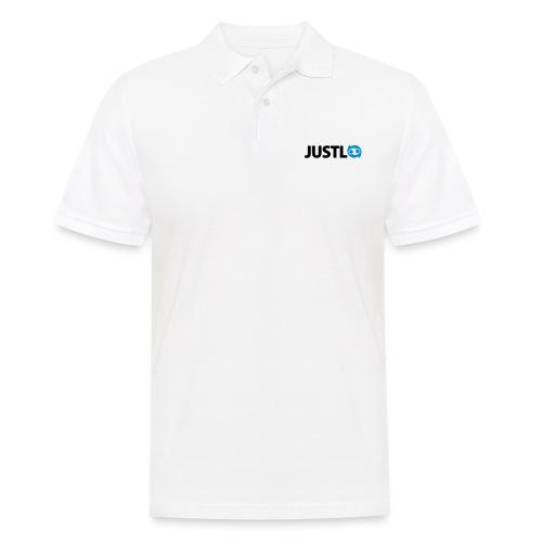 Justlo Logo - Männer Poloshirt