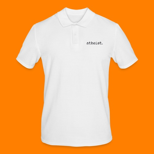 atheist BLACK - Men's Polo Shirt