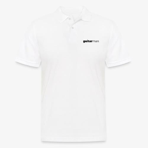 guitarman - Männer Poloshirt