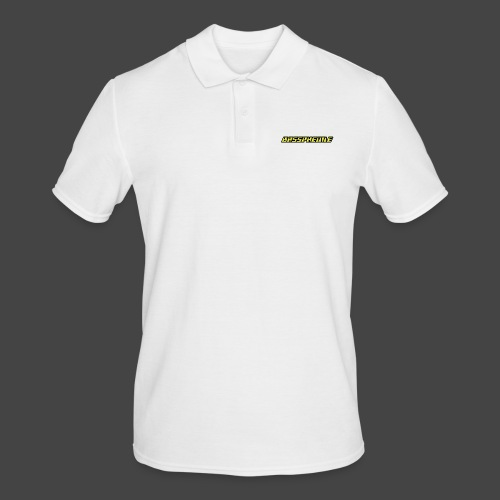 Bassphemie - Neongelb - Männer Poloshirt