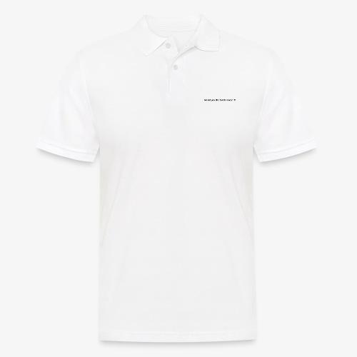 talk - Koszulka polo męska