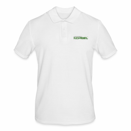 Logo trans - Männer Poloshirt
