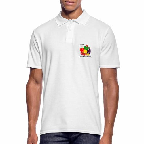 Veggie Family - Cheese - Men's Polo Shirt