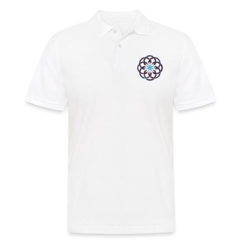 Spirograph 1 - Männer Poloshirt