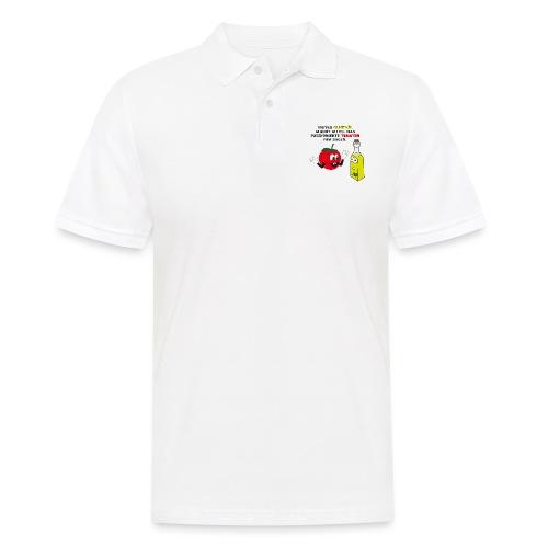 Tomate und Olivenöl - Männer Poloshirt