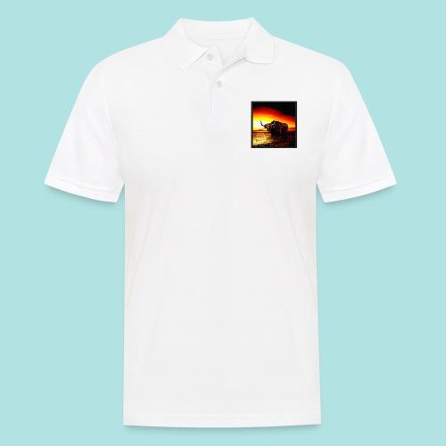 Wandering_Bull - Men's Polo Shirt