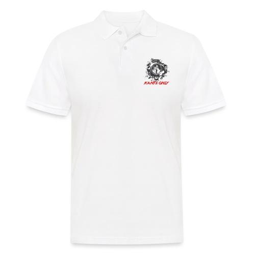 Kante Only (weiß) - Männer Poloshirt