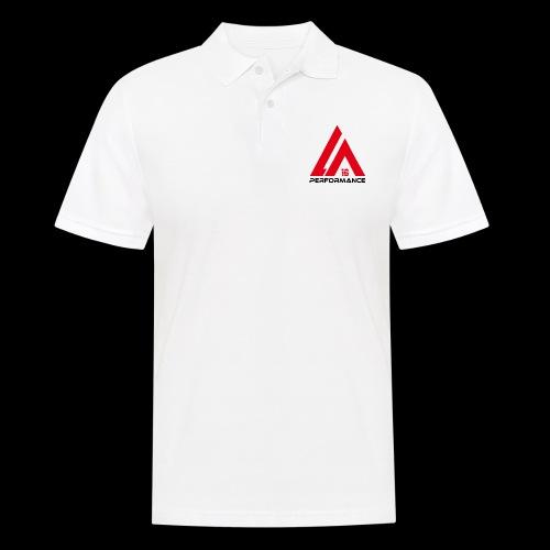 LA Performance red/black - Männer Poloshirt