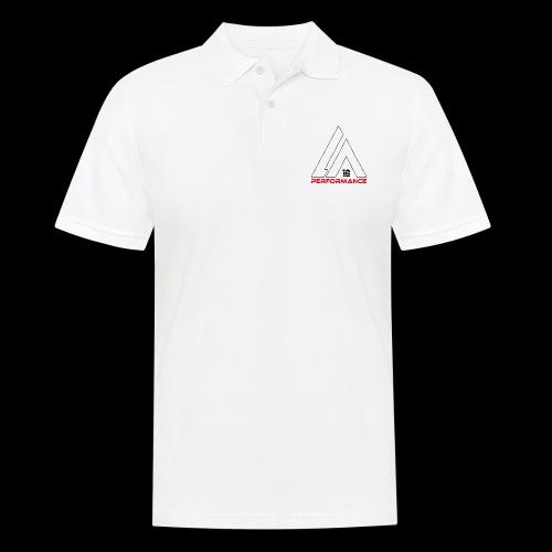LA Performamce black/red - Männer Poloshirt
