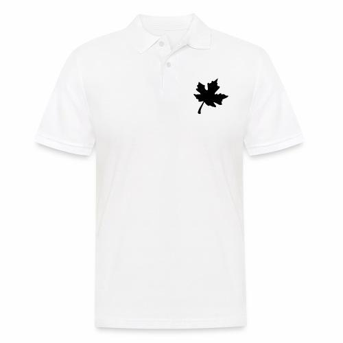 Ahorn Blatt - Männer Poloshirt