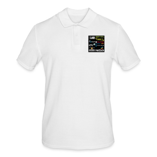 tshirt 2 rueck kopie - Men's Polo Shirt