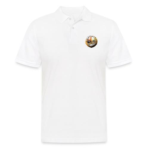 Rigormortiz Metallic Orange Design - Men's Polo Shirt