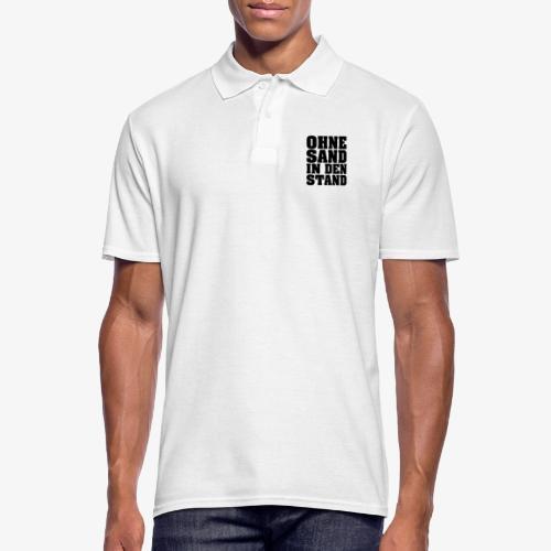 OHNE SAND IN DEN STAND 3 - Männer Poloshirt