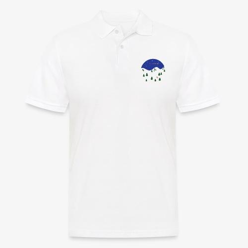 boule Noël bleue - Men's Polo Shirt