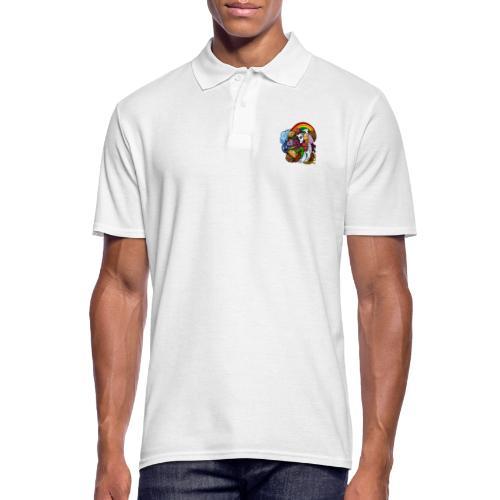 Happy Colors - Männer Poloshirt