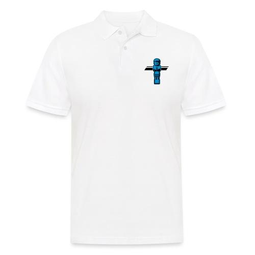 Soccerfigur 2-farbig - Kickershirt - Männer Poloshirt