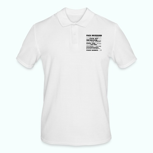 f'ck 1702410_133337147_IM - Männer Poloshirt
