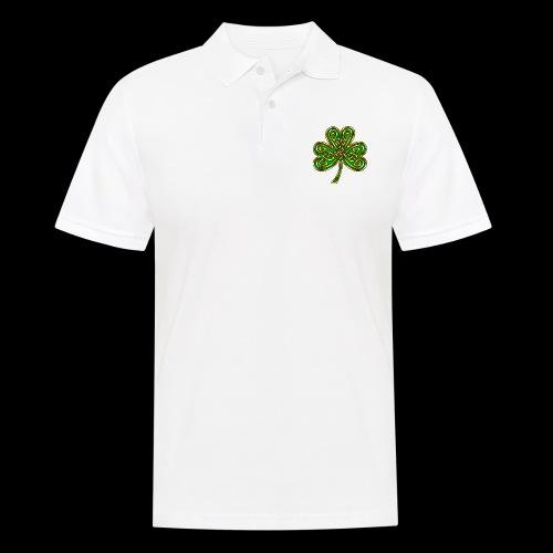 Celtic Knotwork Shamrock - Men's Polo Shirt