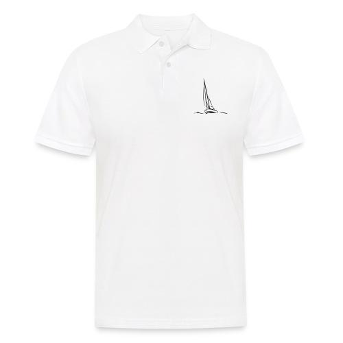 Segelboot - Männer Poloshirt