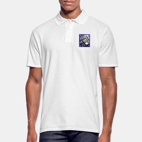 Stop working start riding - Männer Poloshirt
