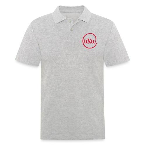 UXU logo round - Men's Polo Shirt