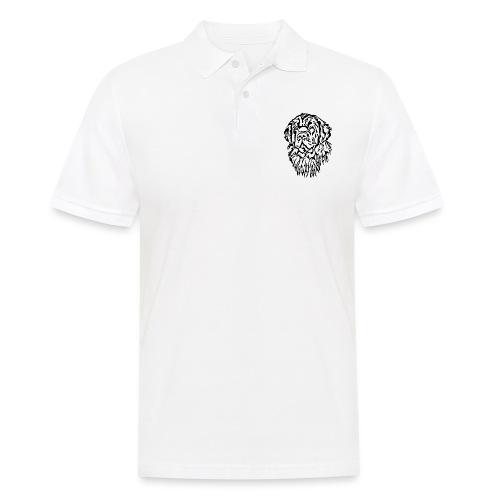 Neufundländer Kopf - Männer Poloshirt