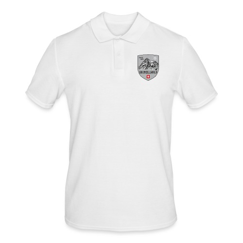 Grindelwald Switzerland coat of arms - Men's Polo Shirt