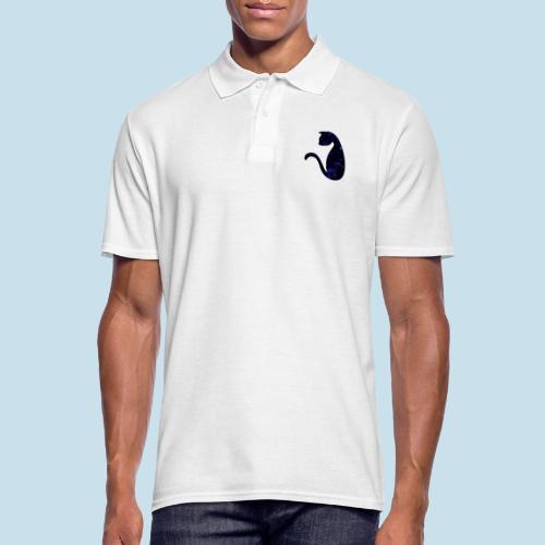 Universums Katze - Männer Poloshirt