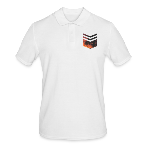 Palm Beach Triangle - Männer Poloshirt