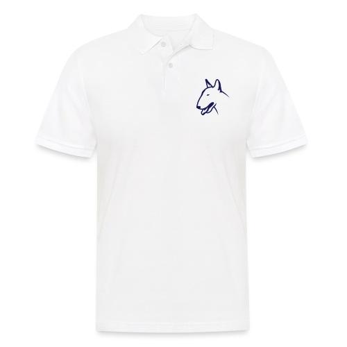 Bullterrier BULLY HEAD 1c_4light - Männer Poloshirt