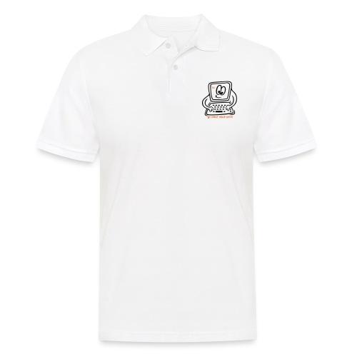 Datenschutz Internet PC - Männer Poloshirt
