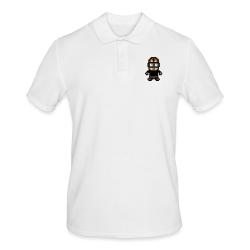 Die Zock Stube - Pixel Patrick - Männer Poloshirt