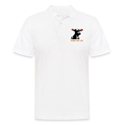 colorida vegan for life - Männer Poloshirt