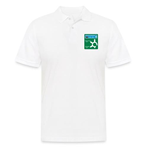 HOME_FOR_CHRISTMAS_SIGN - Men's Polo Shirt