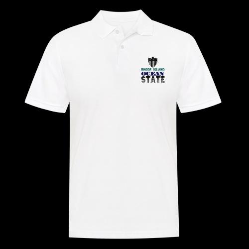 rhode island ocean state - Men's Polo Shirt