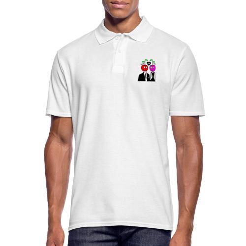 Happy Kirsche - Männer Poloshirt
