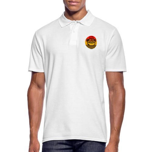 Ich mach Urlaub ich eskaliere - Männer Poloshirt