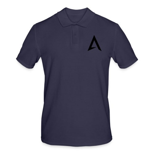 alpharock A logo - Men's Polo Shirt