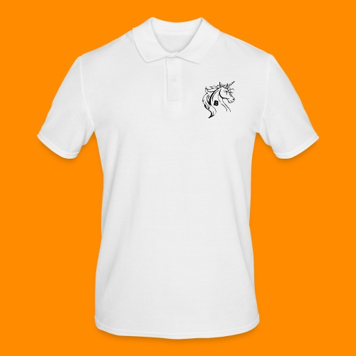 the biodusty unicorn mousepad - Mannen poloshirt